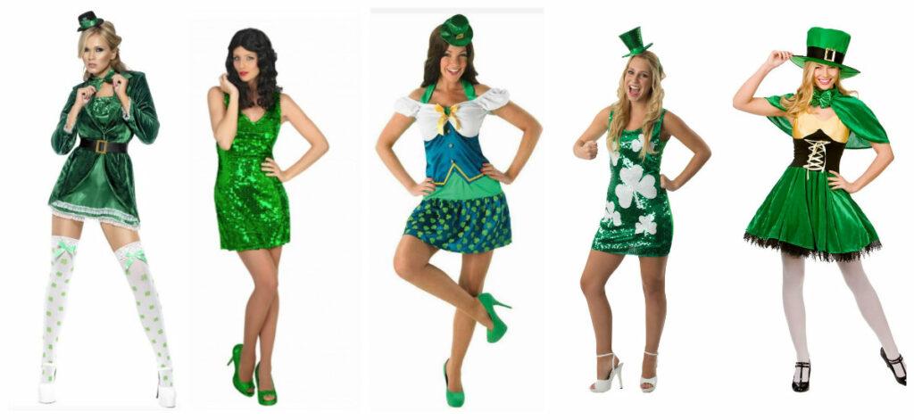 sankt patricks day kjole sankt patriks dag kjole sankt patricks day kostume til kvinder grønt kostume til kvinder leprechaun kostume gimmer kjole i grøn