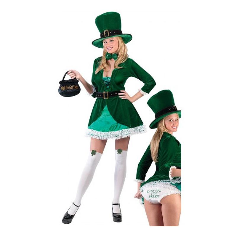 sankt patricks day kjole sankt patriks dag kjole sankt patricks day kostume til kvinder grønt kostume til kvinder