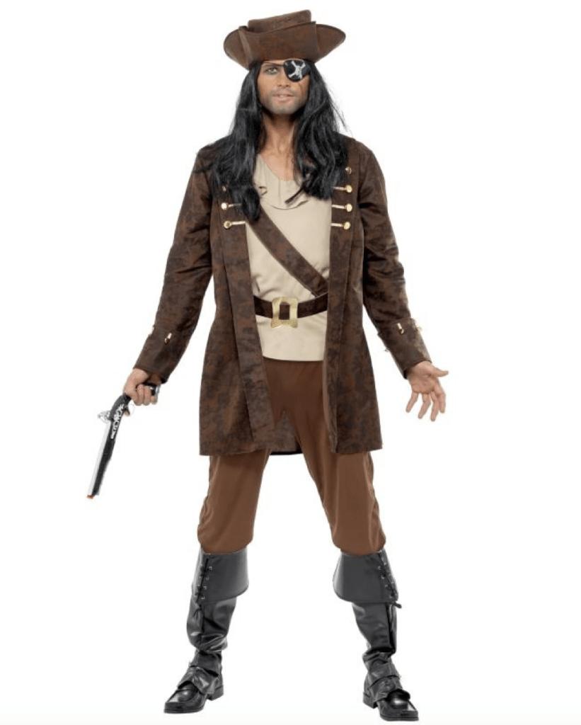 Skærmbillede 2018 04 21 kl. 12.50.50 821x1024 - Pirat kostume til voksne