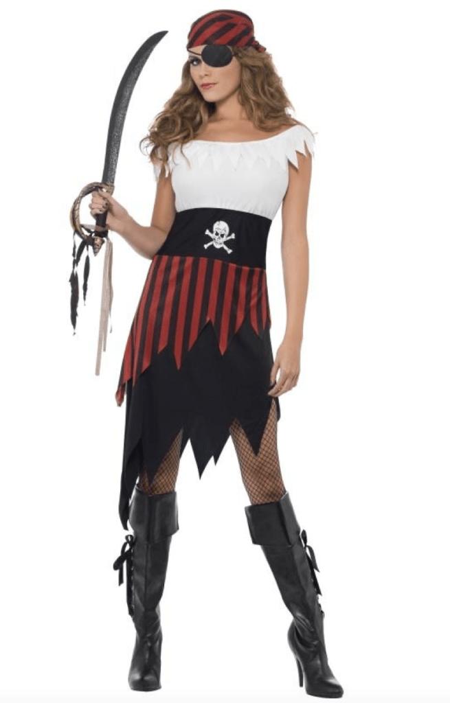 Skærmbillede 2018 04 21 kl. 13.02.28 655x1024 - Pirat kostume til voksne