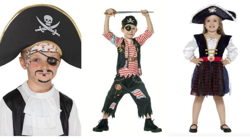 piratkostume til børn pirat barn udklædning babykostume pirat sørøver kostume til barn sørøver babykostume
