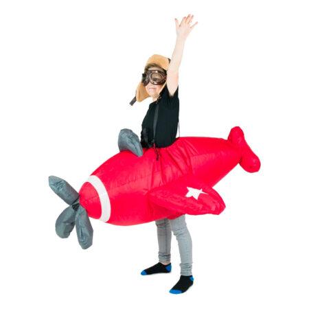 fly kostume flyver kostume pilot med fly kostume til børn