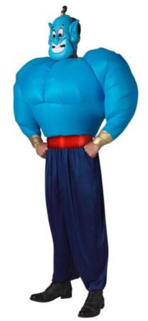 gennie kostume til sidste skoledag udklædning blåt kostume disney udklædning sjovt kostume