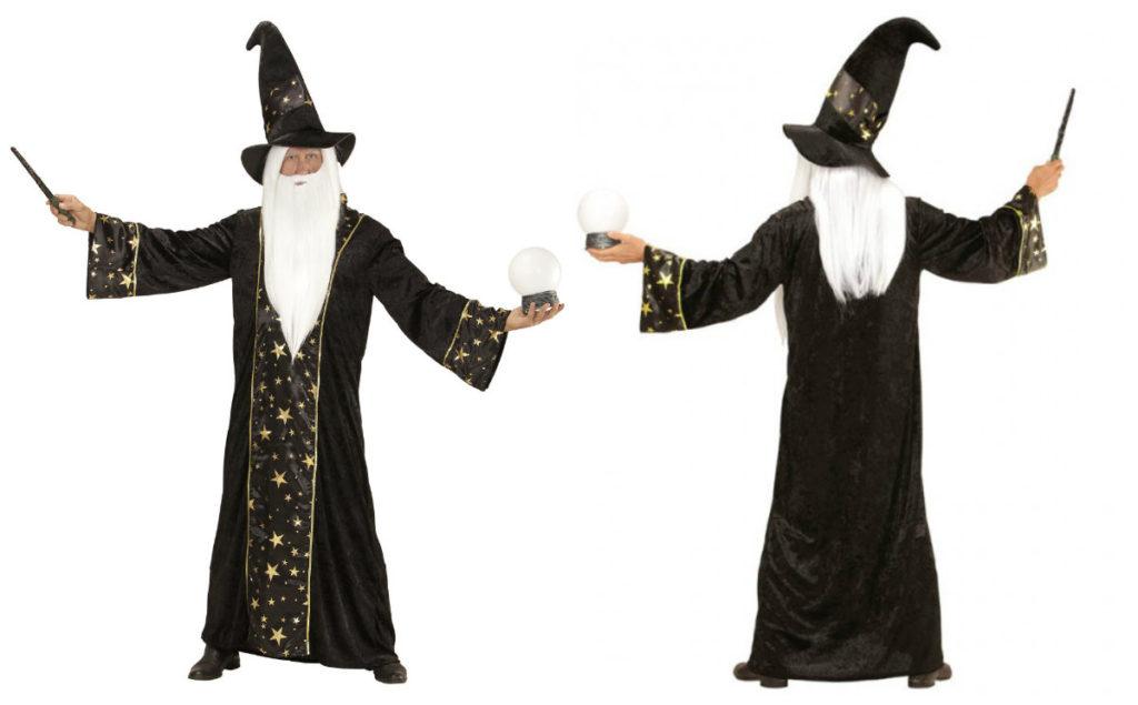 harry potter kostume til voksne harry potter magisk troldmandskostume sidste skoledag udklædning sort kappe til kostume som troldmand