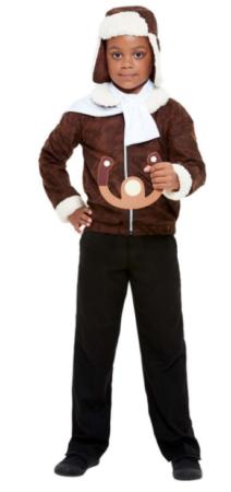 pilot WW1 old fashion pilot kostume retro pilot kostume til børn