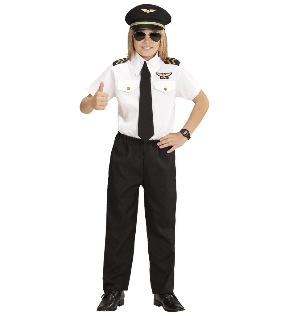 pilot kostume til børn co pilot børnekostume