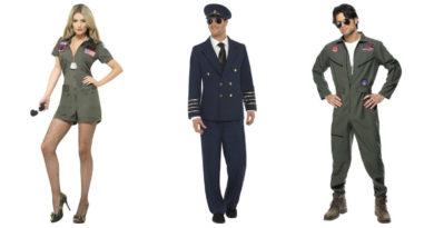 pilot kostume til vokse top gun kostume pilot udklædning