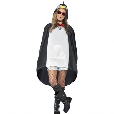 pingvin kostume til voksne sidste skoledag karneval fastelavn pingvin regnsalg