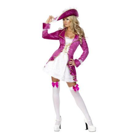 pink pirak sexet pirat kostume frækt pirat kjole til kvinder