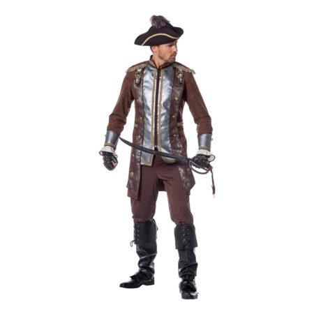 pirat kostume luksus pirat deluxe udklædning