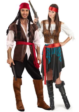 pirat kostume til par pirat parkostume til voksne