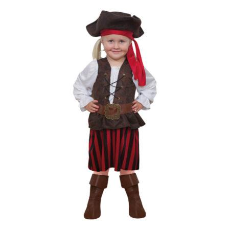pirat pige kostume sørøverkostume til piger