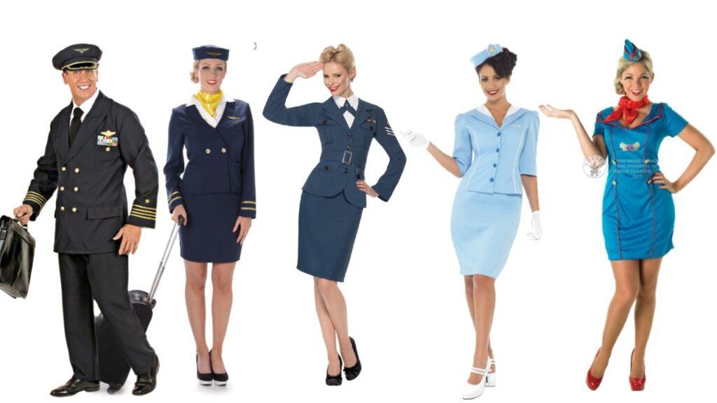 stewardesse kostume til voksne turist kostume til voksne fly kostume til voksne