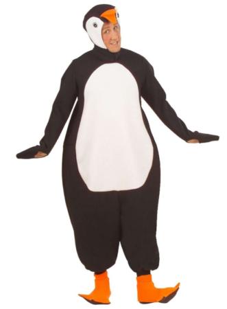 tyk pingvin kostume til voksne