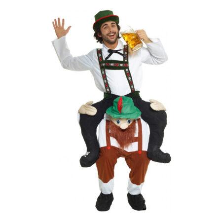 Oktoberfest piggyback kostume til mænd 450x450 - Oktoberfest kostume til mænd