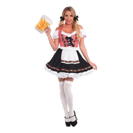 klassisk bayersk frækt oktoberfest kostume