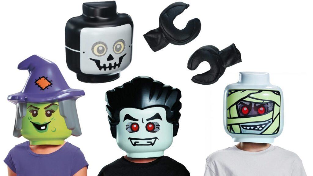 lego halloween maske til børn billigt lego kostume billigt halloween kostume nemt halloween kostume