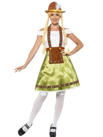oktoberfest udklædning dame komplet oktoberfest kostume