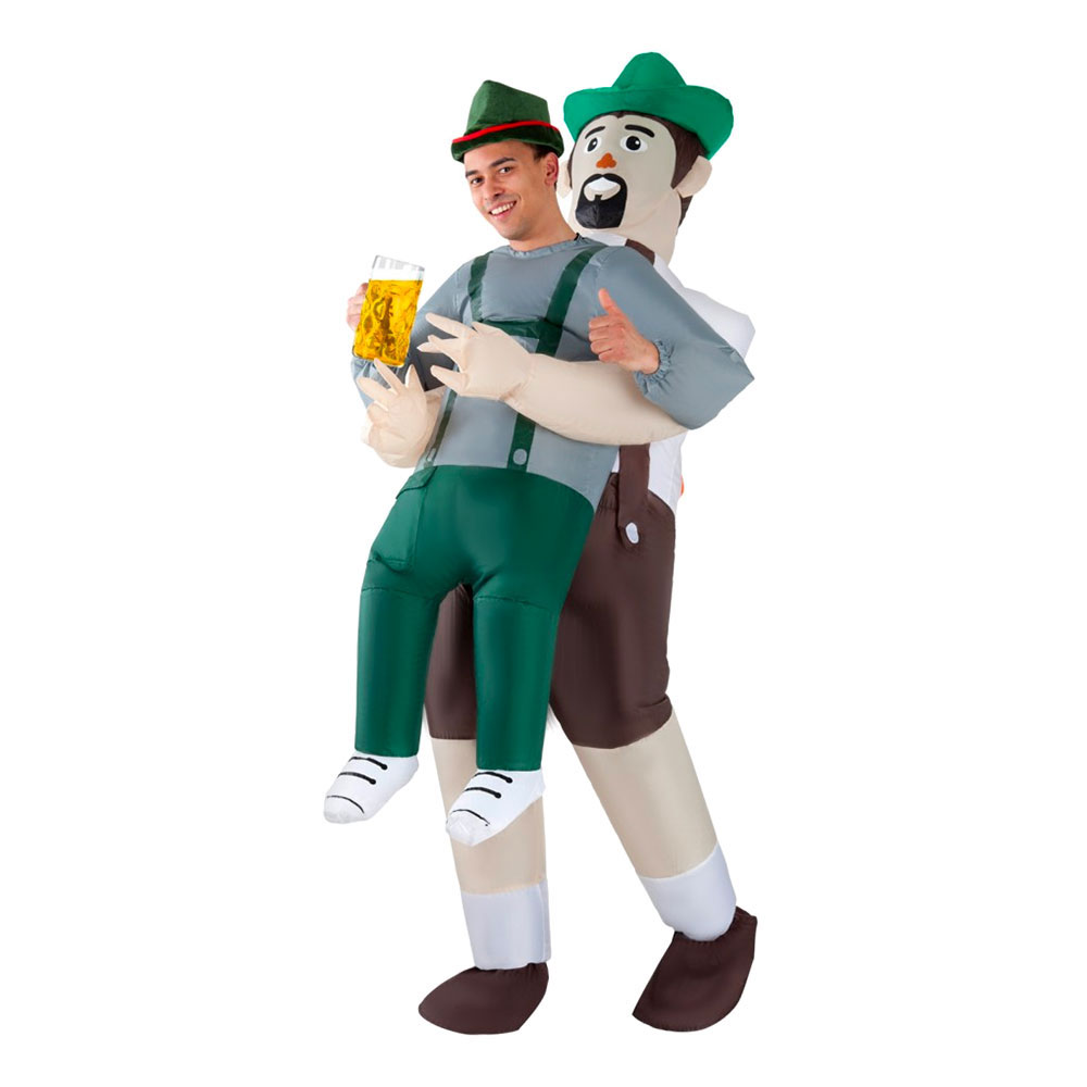 oppustelig oktoberfest kostume - Oktoberfest kostume til mænd