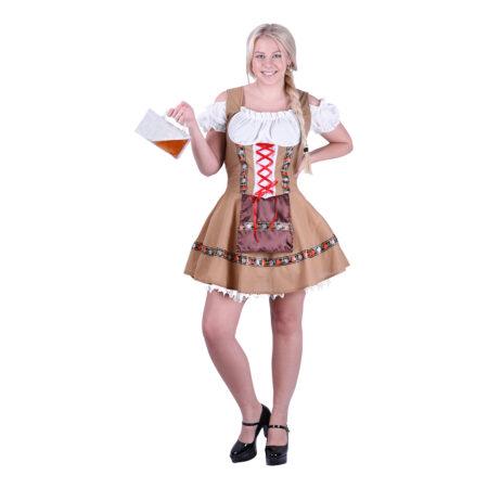 tyroler kjole oktoberfest kjole