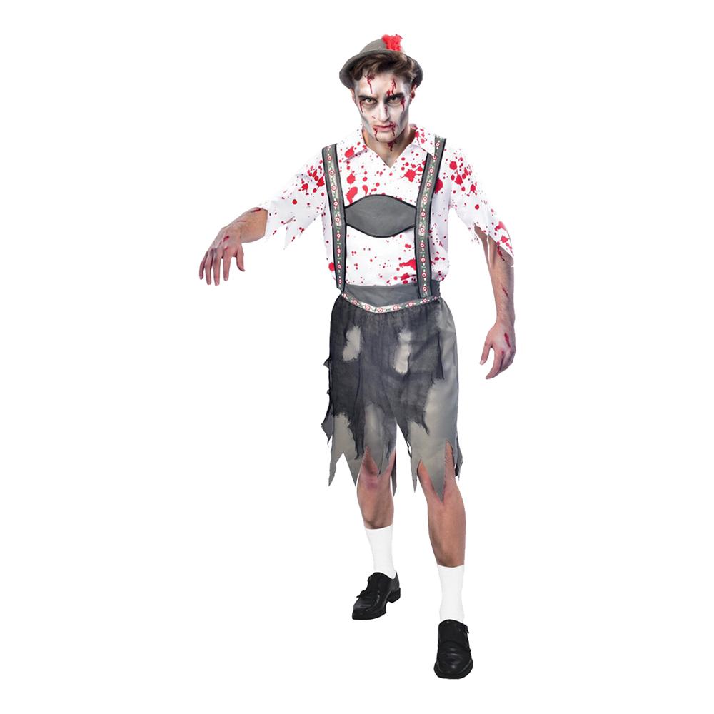 zombie oktoberfest kostume - Oktoberfest kostume til mænd