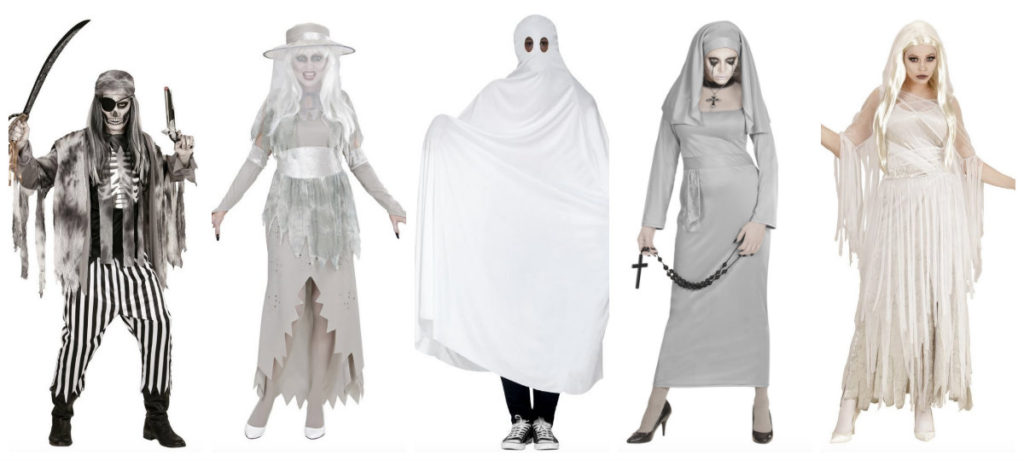collage 1024x461 - Spøgelse kostume til voksne