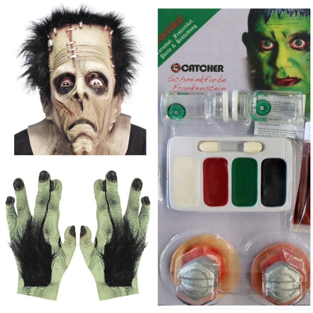 collage 4 1024x1024 - Frankenstein kostume til voksne