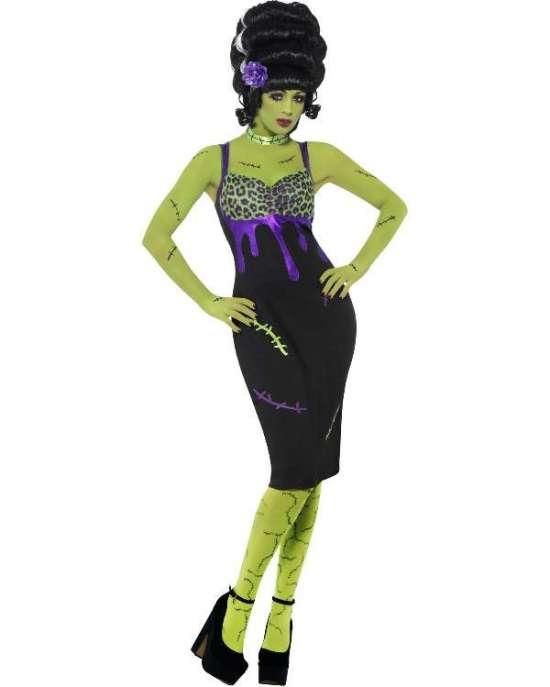 miss frankenstein kostume - Frankenstein kostume til voksne