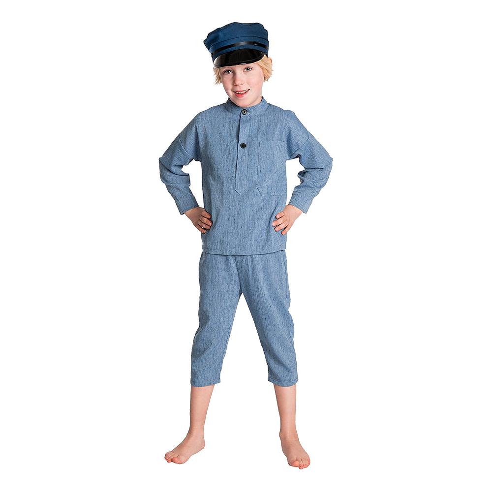 Emil fra lønneberg børnekostume - Emil fra Lønneberg kostume til børn