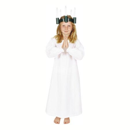 hvid lucia kjole lucia kostume lucia tøj