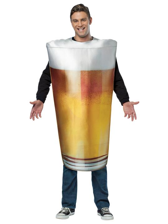 øl krus kostume drikkekostume ølfest kostume drikke kostume til voksne ølglas udklædning oktoberfest kostume