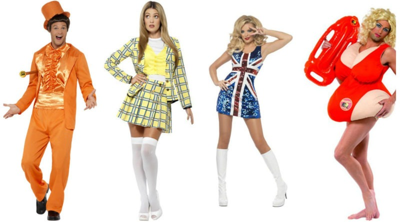 90er fest kostume 90er tøj 90er kostume 90er udklædning 90er temafest cher clueless kostume baywatch kostume dum dummere kostume spicegirls kostume