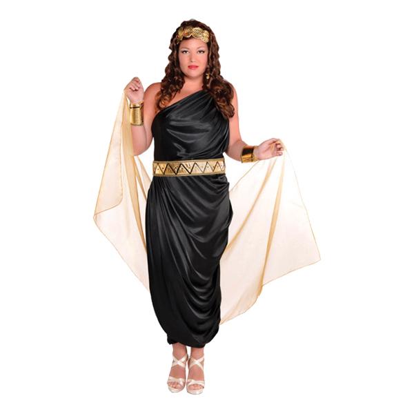 Kleopatra plus size kostume - Kleopatra kostume til voksne