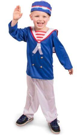 Matros børnekostume 273x450 - Sømand kostume til børn og baby