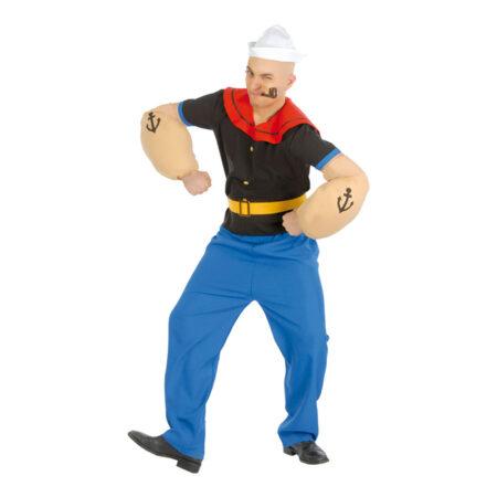 Muskuløs sømand kostume 450x450 - Sømand kostume til voksne