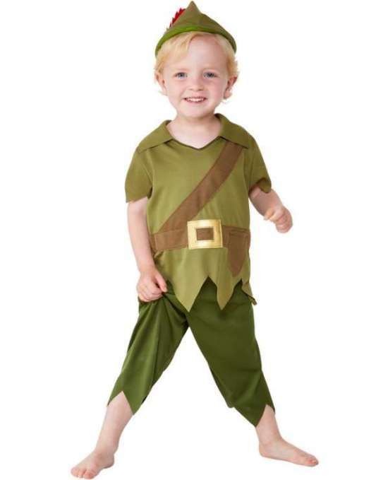 Robin hood babykostume - Robin Hood kostume til børn og baby