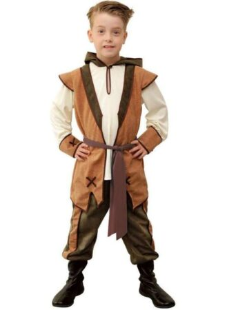 Robin hood udklædning til børn 329x450 - Robin Hood kostume til børn og baby
