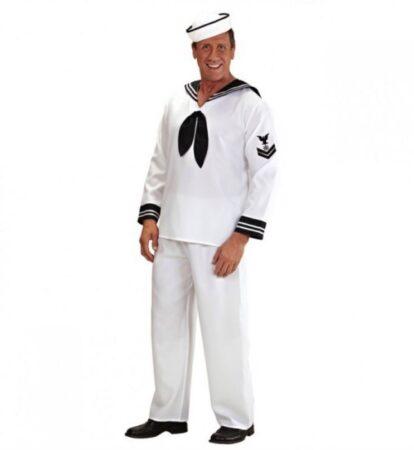 Sailor kostume til mænd sømand fastelavnskostume til voksne 414x450 - Sømand kostume til voksne