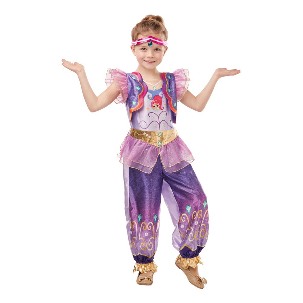 Shimmer børnekostume - Shimmer & Shine kostume til børn