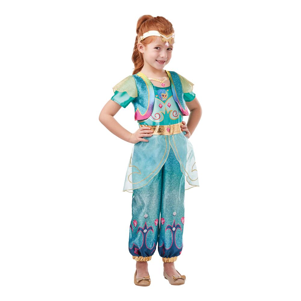 Shine børnekostume - Shimmer & Shine kostume til børn