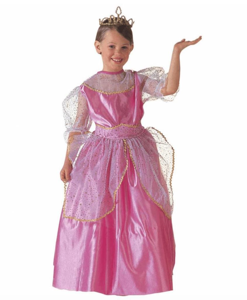 Skærmbillede 2018 12 05 kl. 22.11.39 845x1024 - Prinsesse kostume til børn