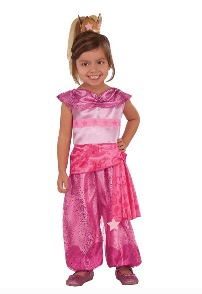 Skærmbillede 2018 12 13 kl. 22.23.42 706x1024 - Shimmer & Shine kostume til børn