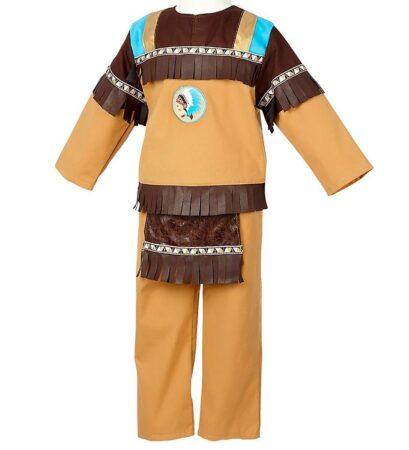Souza indianer udklædning til børn 409x450 - Indianer kostume til børn