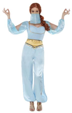 arabisk prinsesse kostume til voksne voksenkostume 1001 nat jasmin kostume kvinder