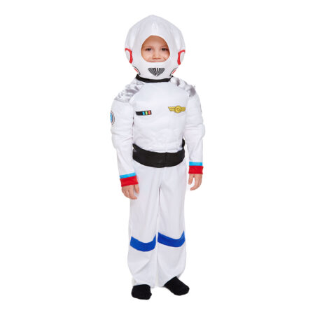 astronaut børnekostume rumdragt til børn rumdragt fastelavnskostume
