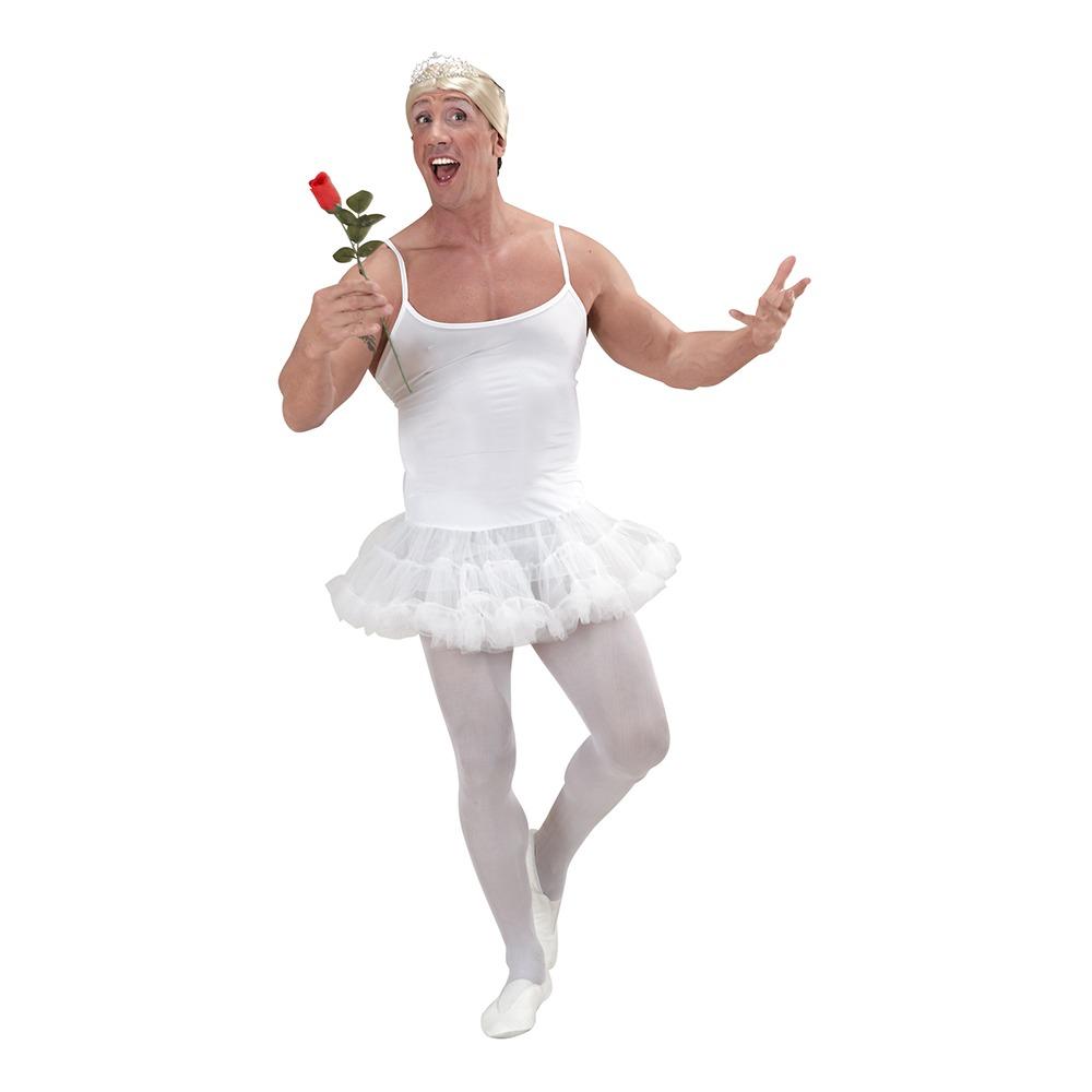 ballerina kostume til voksne ballerina kostume til mænd hvid ballerina kjole til mænd baletdanserinde udklædning mand