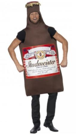 budweiser kostume budweiser udklædning ølkostume drikke kostume øl udklædning festival kostume karneval udklædning