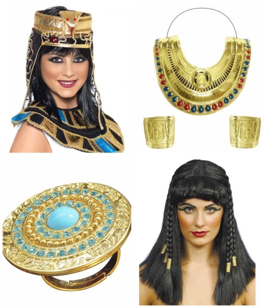 collage 12 881x1024 - Kleopatra kostume til voksne