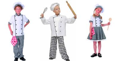 kokke kostume til børn, kokkekostume til børn, kokke tøj til børn, kokke udklædning til børn, uniform til børn, kok børnekostumer, kokke kostumer til børn, hvide kostumer til børn, kostume universet