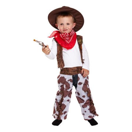 cowboy kostume til 3 årig